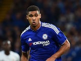 Chelsea's English midfielder Ruben Loftus-Cheek runs with the ball during the pre-season friendly International Champions Cup football match between Chelsea and Fiorentina at Stamford Bridge in London on August 5, 2015