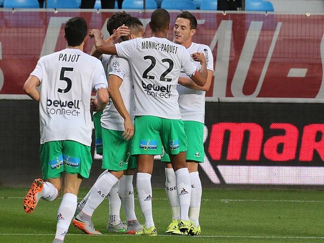 Result: Own goal hands Saint-Etienne win