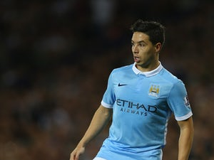Samir Nasri of Manchester City during the Barclays Premier League match between West Bromwich Albion and Manchester City at The Hawthorns on August 10, 2015