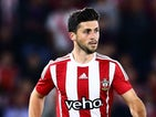 Shane Long of Southampton in action during the UEFA Europa League Play Off Round 1st Leg between Southampton and Midtjylland at St Mary's Stadium on August 20, 2015 in Southampton, England.