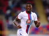 Sullay Kaikai of Crystal Palace in action during the pre season friendly match between Dagenham and Redbridge and Crystal Palace at Victoria Road Stadium on August 3, 2015