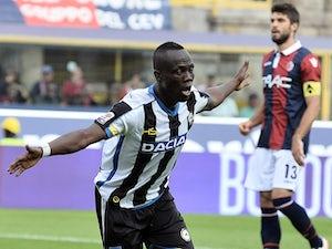 Duvan Zapata strike downs Bologna