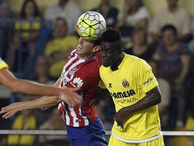 Atletico madrid 39 s uruguayan defender diego godin l vies - Bally madrid ...