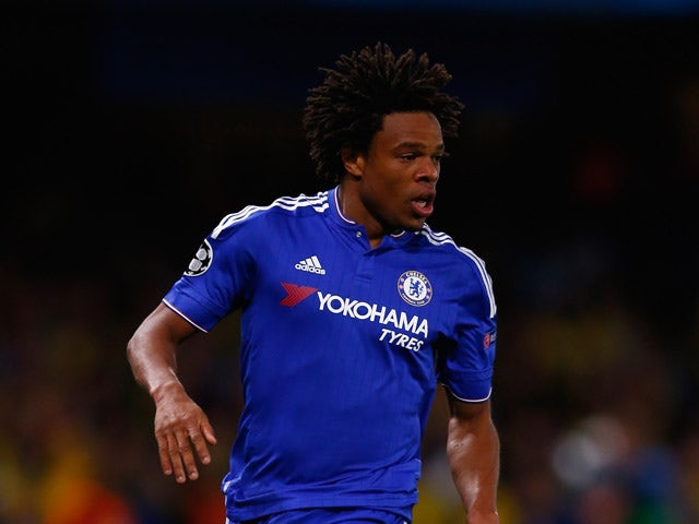 Willian of Chelsea in action during the UEFA Champions League Group G match between Chelsea and Maccabi Tel-Aviv at Stamford Bridge on September 16, 2015