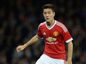 Ander Herrera of Manchester United during the Capital One Cup Third Round match between Manchester United and Ipswich Town at Old Trafford on September 23, 2015 in Manchester, England.