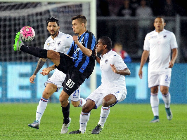 Result: Atalanta BC see off Sampdoria