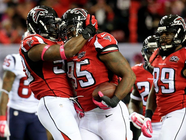 Result: Falcons score seven TDs in Texans rout