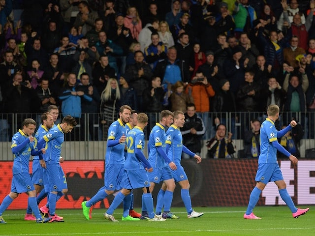 Result: BATE hold on to record win over Roma