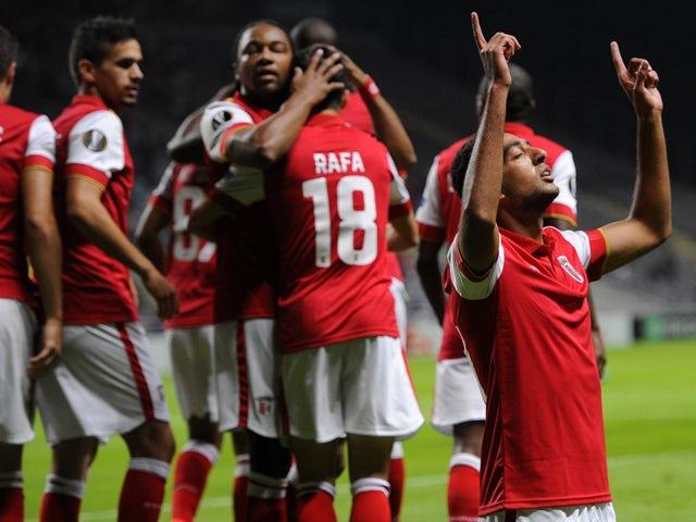Result: Braga put four past Belenenses