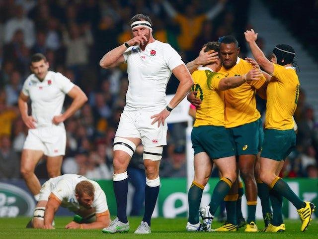 Result: Australia condemn England to World Cup exit