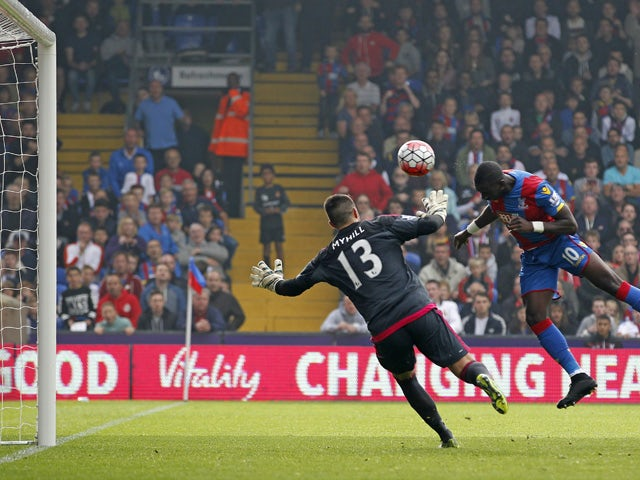 Result: Yannick Bolasie scores in Palace victory