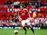 Daley Blind of Manchester United in action during the Barclays Premier League match between Manchester United and Sunderland at Old Trafford on September 26, 2015 in Manchester, United Kingdom.