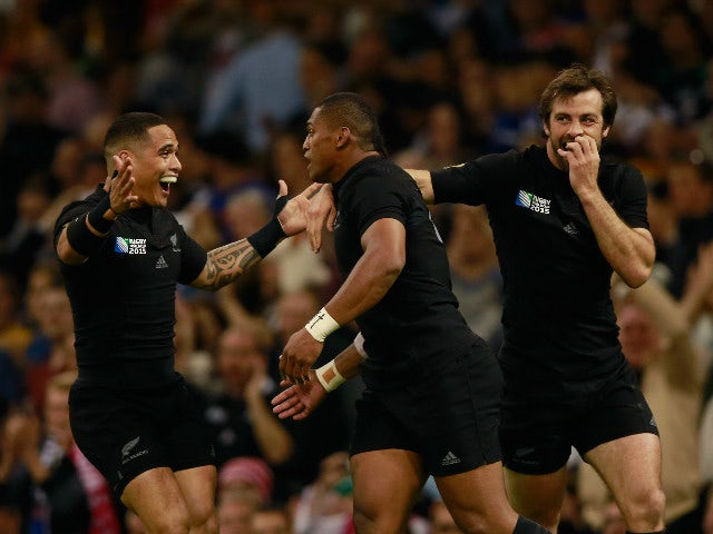 Result: New Zealand power past resilient Georgia