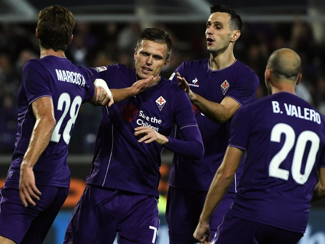 Result: Fiorentina go top with win