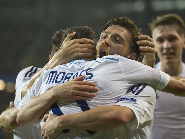 Result: Dynamo Kiev cruise to Maccabi victory