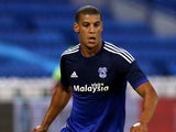 Lee Peltier of Cardiff City during the pre season friendly match between Cardiff City and Watford at Cardiff City Stadium on July 28, 2015 in Cardiff, Wales, United Kingdom.