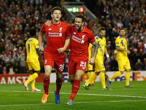 Liverpool held to draw by Sion