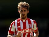 Marc Muniesa of Stoke City during the Barclays Premier League match between Norwich City and Stoke City at Carrow Road on August 22, 2015