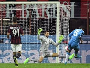 Napoli put four past lowly AC Milan