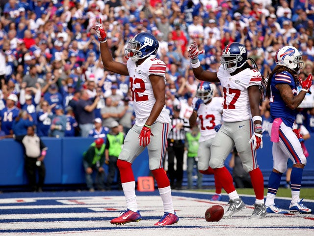 Result: Manning guides Giants to victory over Bills