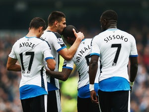 Aguero goal cancels out Mitrovic opener