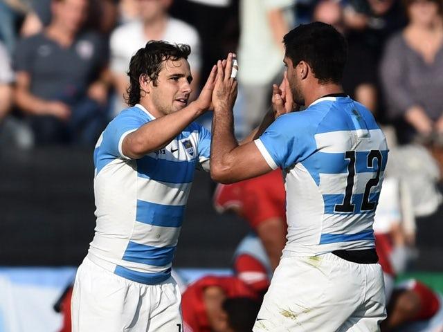 Result: Argentina score nine tries against Namibia