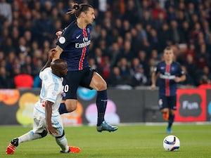 Zlatan Ibrahimovic double gives PSG lead