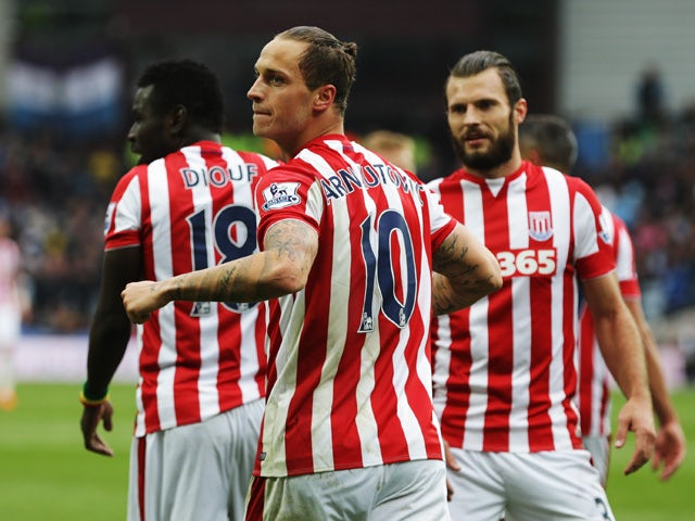 Result: Marko Arnautovic goal gives Stoke win