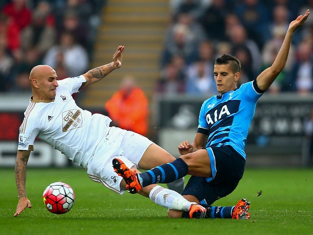 Result: Spurs claim point at Swansea