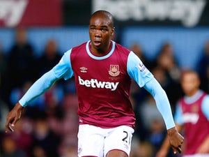Angelo Ogbonna Obinze of West Ham United in action during the Barclays Premier League match between West Ham United and Newcastle United at Boleyn Ground on September 14, 2015 in London, United Kingdom.