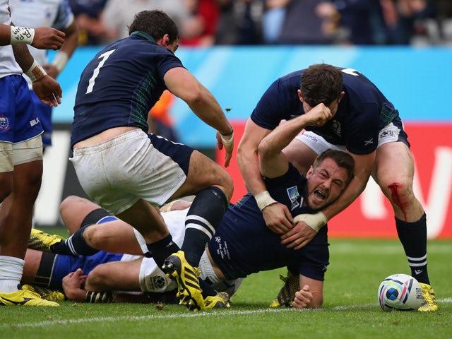 Result: Scotland reach RWC quarter-finals