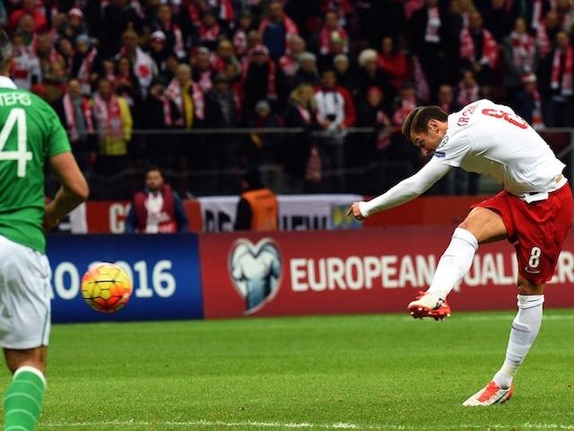 Result: Poland pip Ireland to Euro 2016 spot