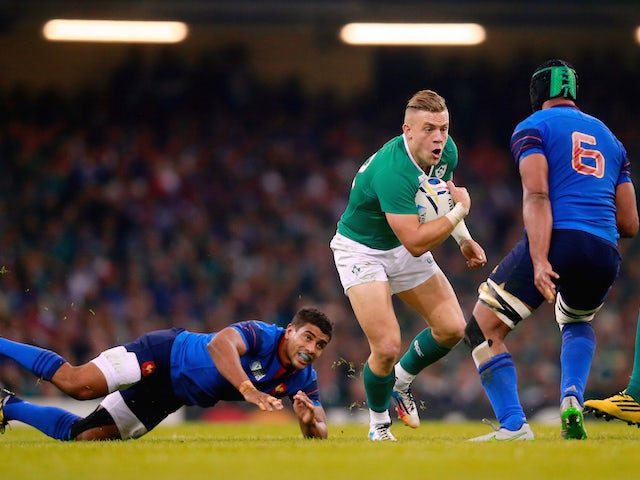 Result: Ireland beat France to top Pool D