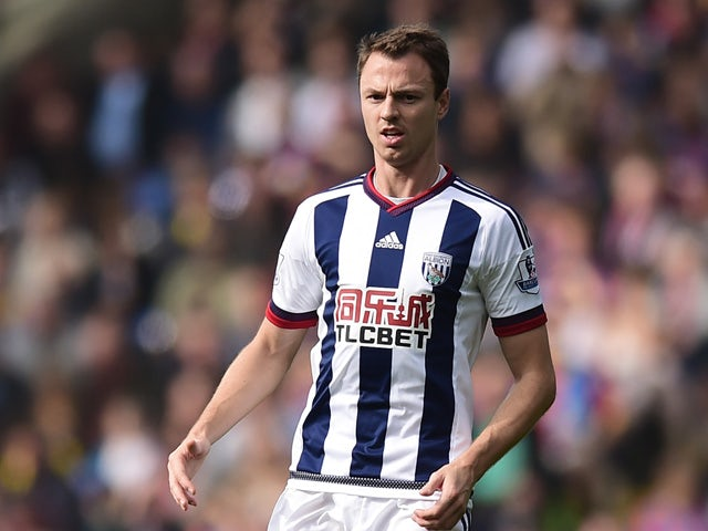 Result: Evans rescues a point for West Brom