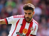 Jordi Gomez of Sunderland during the Barclays Premier League match between Sunderland and Tottenham Hotspur at the Stadium of Light on September 13, 2015 in Sunderland, United Kingdom.