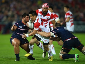 Japan bow out of Rugby World Cup with a win