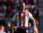 Lee Cattermole of Sunderland in action during the Barclays Premier League match between Sunderland and Norwich City at Stadium of Light on August 15, 2015 in Sunderland, England.