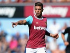 Manuel Lanzini of West Ham United during the Betway Cup match between West Ham Utd and SV Werder Bremen at Boleyn Ground on August 2, 2015 in London, England.