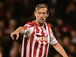 Team News: Peter Crouch leads Stoke line at Anfield