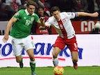 Poland ahead against the Republic of Ireland