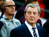 Roy Hodgson manager of England looks on prior to the UEFA EURO 2016 Group E qualifying match between England and Estonia at Wembley on October 9, 2015 in London, United Kingdom.