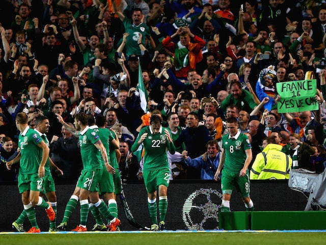 Result: Republic of Ireland shock Germany