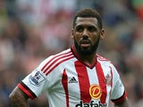 Yann M'Vila of Sunderland looks on during the Barclays Premier League match between Sunderland and Swansea City at Stadium of Light on August 22, 2015 in Sunderland, England.