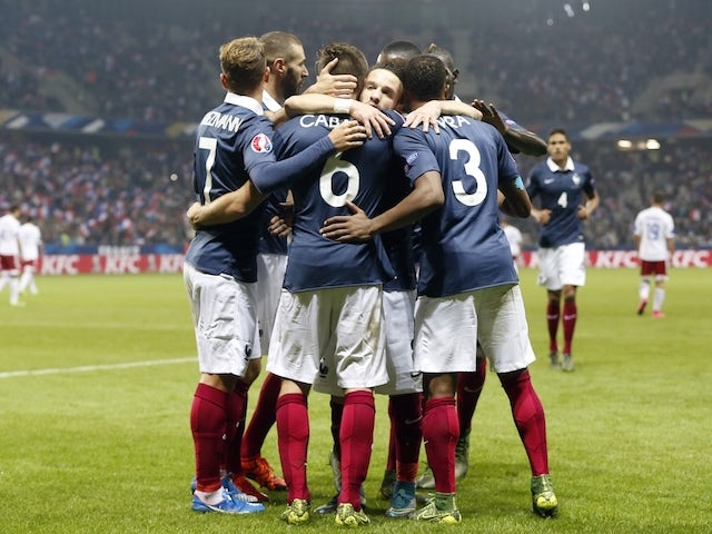 Result: France blow away Armenia