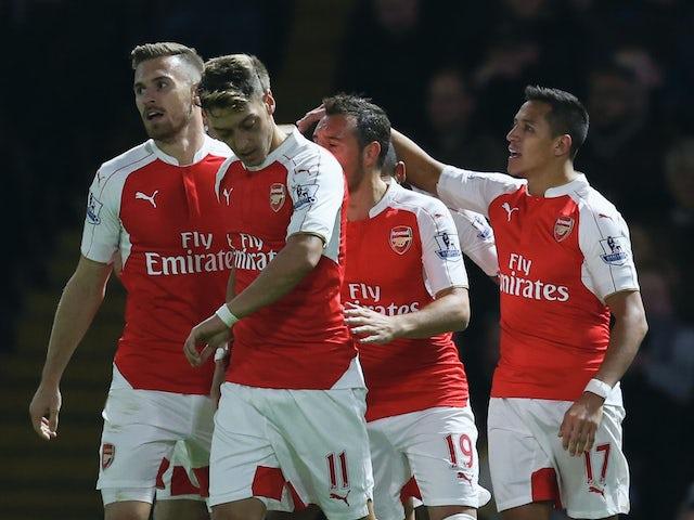 Result: Arsenal storm to three goal win at Watford