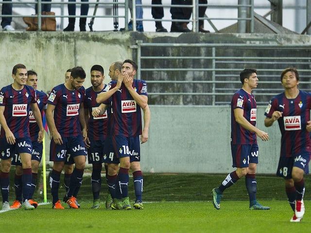 Result: Eibar ease past 10-man Getafe