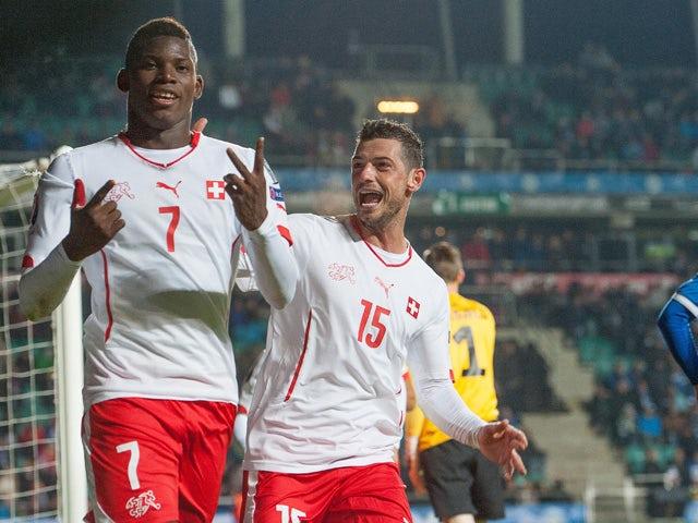 Result: Switzerland leave it late to beat Estonia