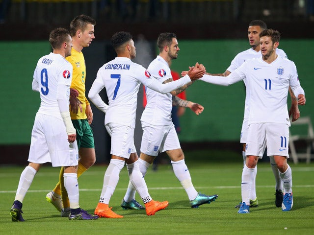 Result: England make it perfect 10 in Vilnius