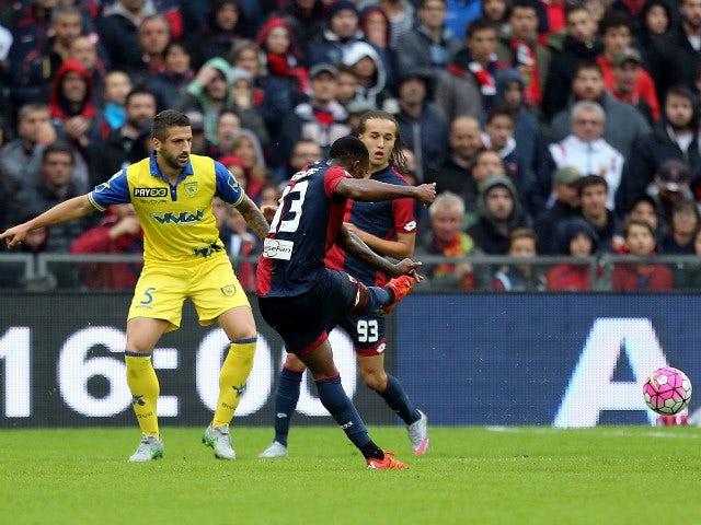 Result: Genoa edge Chievo in five-goal thriller
