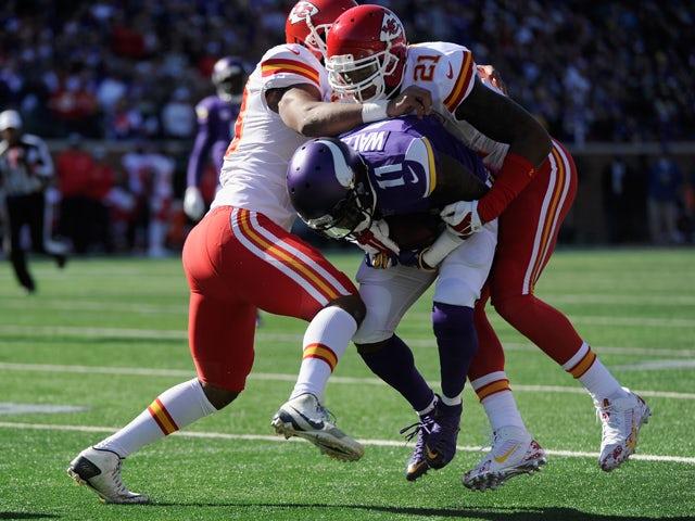 Result: Vikings hold on to beat Kansas City